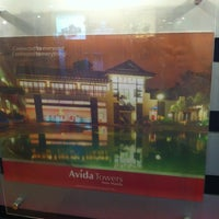 Photo taken at Avida Land Corp booth by Carl C. on 4/7/2013