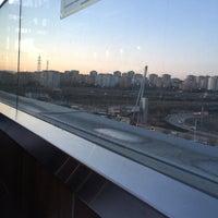 Photo taken at Teras Cafe Optimum by Gizem S. on 2/18/2017