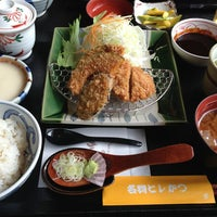Photo taken at かつ雅 小幡店 by とも や. on 8/31/2013