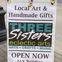 Photo taken at Three Sisters Eclectic Arts by Bridget M. on 5/17/2013