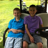 Photo taken at Ellinwood Country Club by Adam D. on 6/9/2013