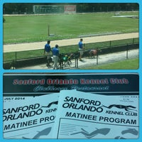 Photo taken at Sanford-Orlando Kennel Club by David L. on 7/31/2014