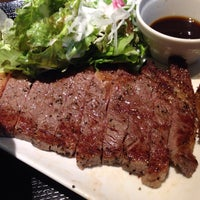 Photo taken at 焼き肉酒場 最上屋 by shoji n. on 7/9/2014