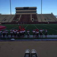 Photo taken at Clyde Abshier Stadium-DPISD by Laci on 9/10/2016