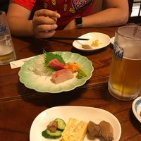 Photo taken at やきとり やま屋 by 春 on 6/23/2017