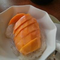Photo taken at Lao Vientiane Restaurant by Helen E. on 4/20/2013