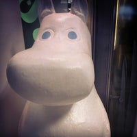 Photo taken at Moomin Shop by Vincent K. on 7/27/2013