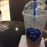 Photo taken at Coffee World @ Central Khonkaen by Jetanai C. on 10/23/2013