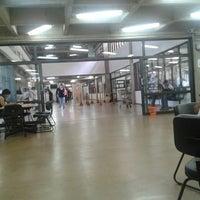 Photo taken at Biblioteca Central Prof. Alpheu da Veiga Jardim (BC) by [TIM BETA] Wanessa R. on 4/3/2013