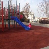 Photo taken at levent şahin parkı by Fatih Ç. on 2/25/2017