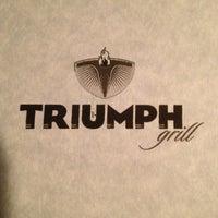 Photo taken at Triumph Grill by Tari W. on 3/12/2013