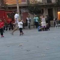 Photo taken at Parc de la Pl. del Diamant by cristian F. on 10/29/2014