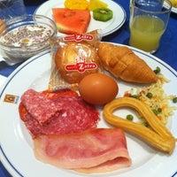 Photo taken at Alhamar Hotel Granada by Nat M. on 11/6/2012
