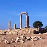 Photo taken at Amman Citadel by Nat M. on 11/9/2012