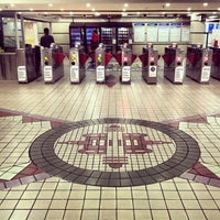Photo taken at Town Hall Station (Main Concourse) by Lawrence Wang 王. on 6/4/2013