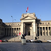 Photo taken at Palacio de Justicia de Lima by Jonathan J B. on 7/1/2013