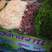 Photo taken at ตลาดนัดเปิดท้าย by pom527 on 3/8/2014