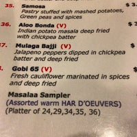 Photo taken at Masala Restaurant by Robin S. on 9/8/2013