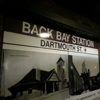 Photo taken at MBTA Back Bay Station (BBY) by Michael G. on 7/4/2013