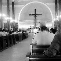 Photo taken at Santuário de Nossa Senhora Aparecida by Mariane D. on 11/18/2014