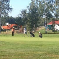 Photo taken at Vaasan Golf by Vesa R. on 7/31/2014