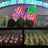 Photo taken at Apo ni Lola Durian Delicacies by Mark Jade D. on 10/3/2017