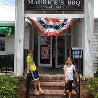 Photo taken at Maurice's BBQ Piggie Park by Cam C. on 6/3/2013
