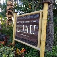 Photo taken at Royal Lahaina Luau by Bob on 6/13/2013