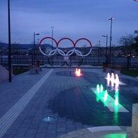 Das Foto wurde bei Olimpia park von Inna B. am 4/18/2014 aufgenommen
