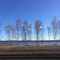Photo taken at Hultsfreds järnvägsstation by Petter K. on 3/16/2014