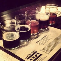 Photo taken at Goose Island Brewpub by Anna J. on 11/12/2012
