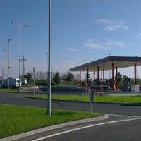 Photo taken at Auchan Fehér tó by Judit G. on 10/28/2014