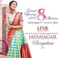 Photo taken at PSR SILKS by Balajee S. on 11/8/2014