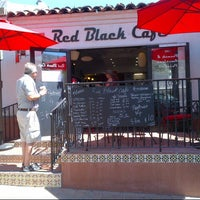 Photo taken at Red Black Cafe by Leanne Y. on 4/2/2013