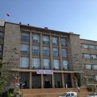 Photo taken at Ankara Üniversitesi Tıp Fakültesi Morfoloji Binasi by M.Adil D. on 5/25/2013
