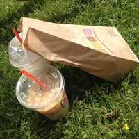 Photo taken at Dunkin Donuts at Bergen Community College by Isabelle B. on 5/17/2013
