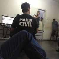 Photo taken at Delegacia Polícia Civil by Anderson J. on 11/9/2012