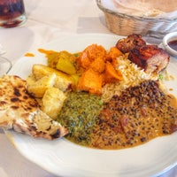 Photo taken at Nirvana Indian Restaurant by Miguel A. on 5/5/2014