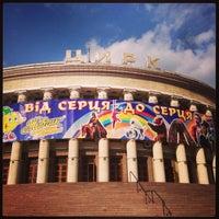 Снимок сделан в Національний цирк України / National circus of Ukraine пользователем Angelika A. 4/12/2013