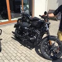 Photo taken at Harley Davidson Šalamounka Club by Róbert M. on 8/23/2017