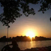 Photo taken at Kiosk am Rhein by nadine on 8/14/2013