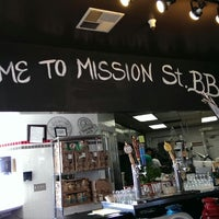 Photo taken at Mission Street Barbecue by Roxy L. on 11/9/2013