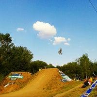 Photo taken at MX Track KAVČÁK by Nikka on 8/5/2014