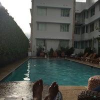 Photo taken at Circa 39 Hotel @ The Pool by Kiwi . on 9/17/2015