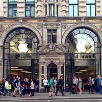 Photo taken at Apple Store Regent Street by Jill S. on 4/24/2013