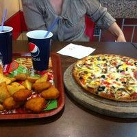 Photo taken at Prestij Burger Pizza by Pınar D. on 5/9/2013