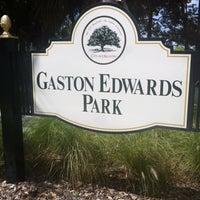 Photo taken at Gaston Edwards Park by Nissa W. on 4/24/2013