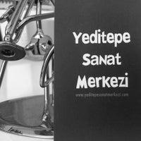 Photo taken at Yeditepe Sanat Merkezi by Erinç Y. on 7/23/2014