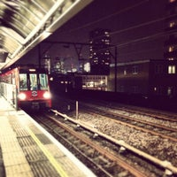 Photo taken at Shadwell DLR Station by Cheryl G. on 4/8/2013