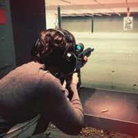 Photo taken at West Coast Armory Indoor Range by Jason S. on 10/14/2012